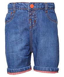 Tales & Stories Denim Bermuda Shorts - Blue