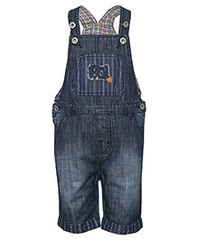Tales & Stories Dungaree 81 Number Patch - Dark Blue