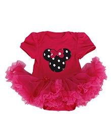 Tickles 4 U Baby Romper - Hot Pink
