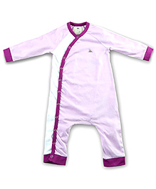 Cherry Crumble California Full Sleeves Bodysuit - Purple
