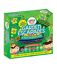 Genius Box Learning Toys For Children Garden Escapades Activity Kit