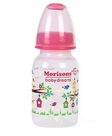 Morisons Baby Dreams Tree House PP Feeding Bottle Pink - 150 Ml