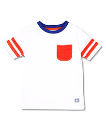 Cherry Crumble T-Shirt For Boys - White