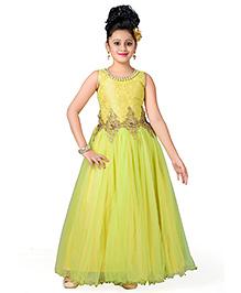 Aarika Beautiful Ball Gown - Green