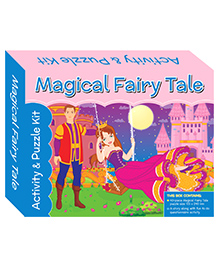 Art Factory Magical Fairy Tale Puzzle - 40 PiecesPuzzle And Activity Kit