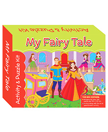 Art Factory My Fairy Tale Puzzle And Activity Kit - 96 Pieces