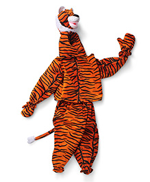 IR Full Sleeves Tiger Suit - Black Orange