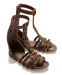 LCL Gladiator Sandals - Brown