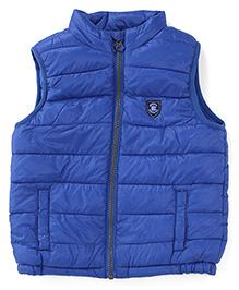 Mothercare Sleeveless Padded Jacket - Blue