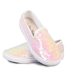 One Friday Sequence Party Shoes - Light Pink