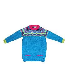FS Mini Klub Full Sleeves Sweater - Blue