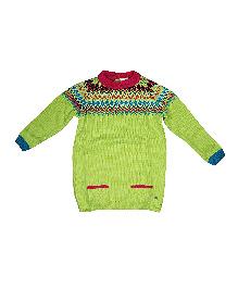 FS Mini Klub Full Sleeves Sweater - Green