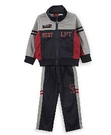 Lilliput Kids Full Sleeves Track Suit - Dark Navy