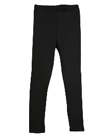 Lilliput Kids Plain Solid Color Leggings - Black