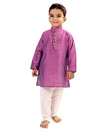 Raghav Kurta & Pyjama Set - Lavender