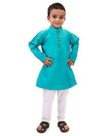 Raghav Kurta & Pyjama Set - Turquoise
