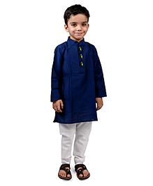 Raghav Kurta & Pyjama Set - Royal Blue