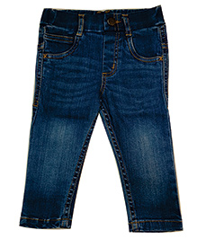 612 League Denim Jeans With Drawstrings - Blue