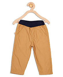 612 League Full Length Poplin Pants With Lining - Brown