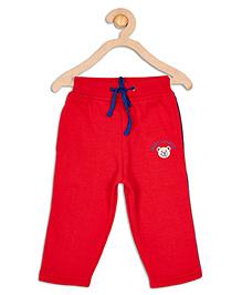 612 League Full Length Drawstring Track Pants - Red