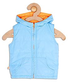 612 League Sleeveless Reversible Jacket - Blue Orange
