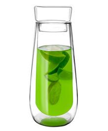 EZ Life Double Wall Shaker Bottle Infuser - Transparent