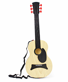 Smiles Creation Wooden Guitar Toy With Box