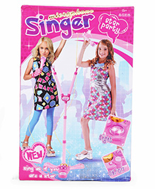 Smiles Creation Singer Microphone Toy - Pink