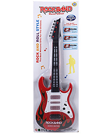 Smiles Creations Rockband Guitar - Black Red