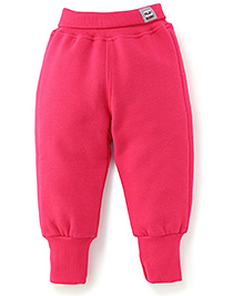 Play by Little Kangaroos Full Length Thermal Bottom - Pink