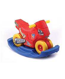 Gro Kids Speedy Scooter Ride On Rocker - Yellow Red