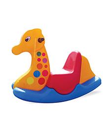 Gro Kids Giraffe Ride On Rocker - Multicolor