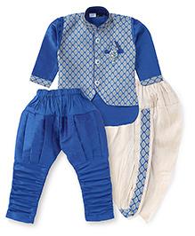 Babyhug 6 In 1 Ethnic Set - Turquoise