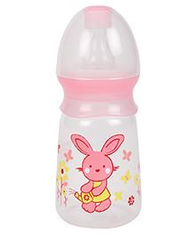 Mee Mee Feeding Bottle Pink 130 Ml (Prints May Vary)