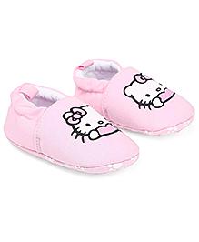 Hello Kitty Booties - Pink