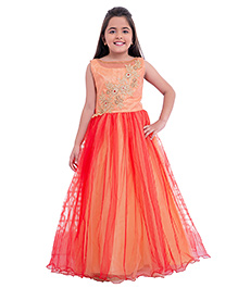 Betty By Tiny Kingdom Evening Gown - Orange