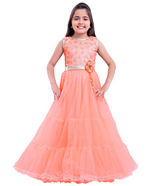 Betty By Tiny Kingdom Evening Gown - Peach