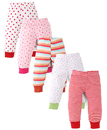Kidi Wav 5 Piece Pyjama Set - Multicolour