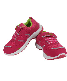 Fuel Sports Shoes With Velcro Closure - Pink