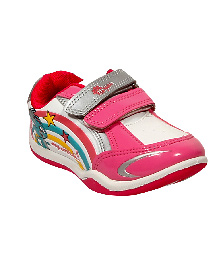 Myau Casual Shoes With Velcro Closure - Pink