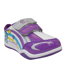 Myau Casual Shoes With Velcro Closure - Purple
