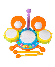 Magic Pitara Flash Drum Set - Multi Color