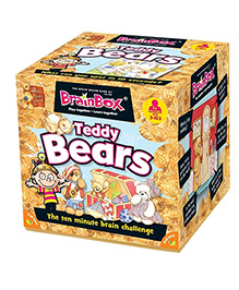 Green Board BrainBox Teddy Bears Brain Game - Multi Color