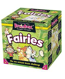 Green Board BrainBox Fairies Brain Game - Multi Color