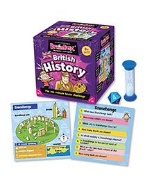 Green Board BrainBox British History Game - Multi Color