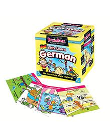 Green Board BrainBox Lets Learn German - Multi Color