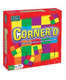 Green Board Corner'd Game - Multi Color