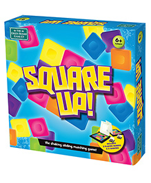 Green Board Square Up Strategic Game - Multi Color