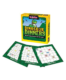 Green Board Dinosaur Dinners Game - Multi Color