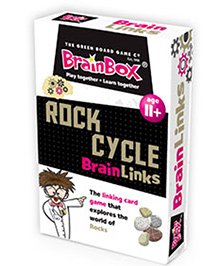 Green Board The Rock Cycle Card Game - Multicolor